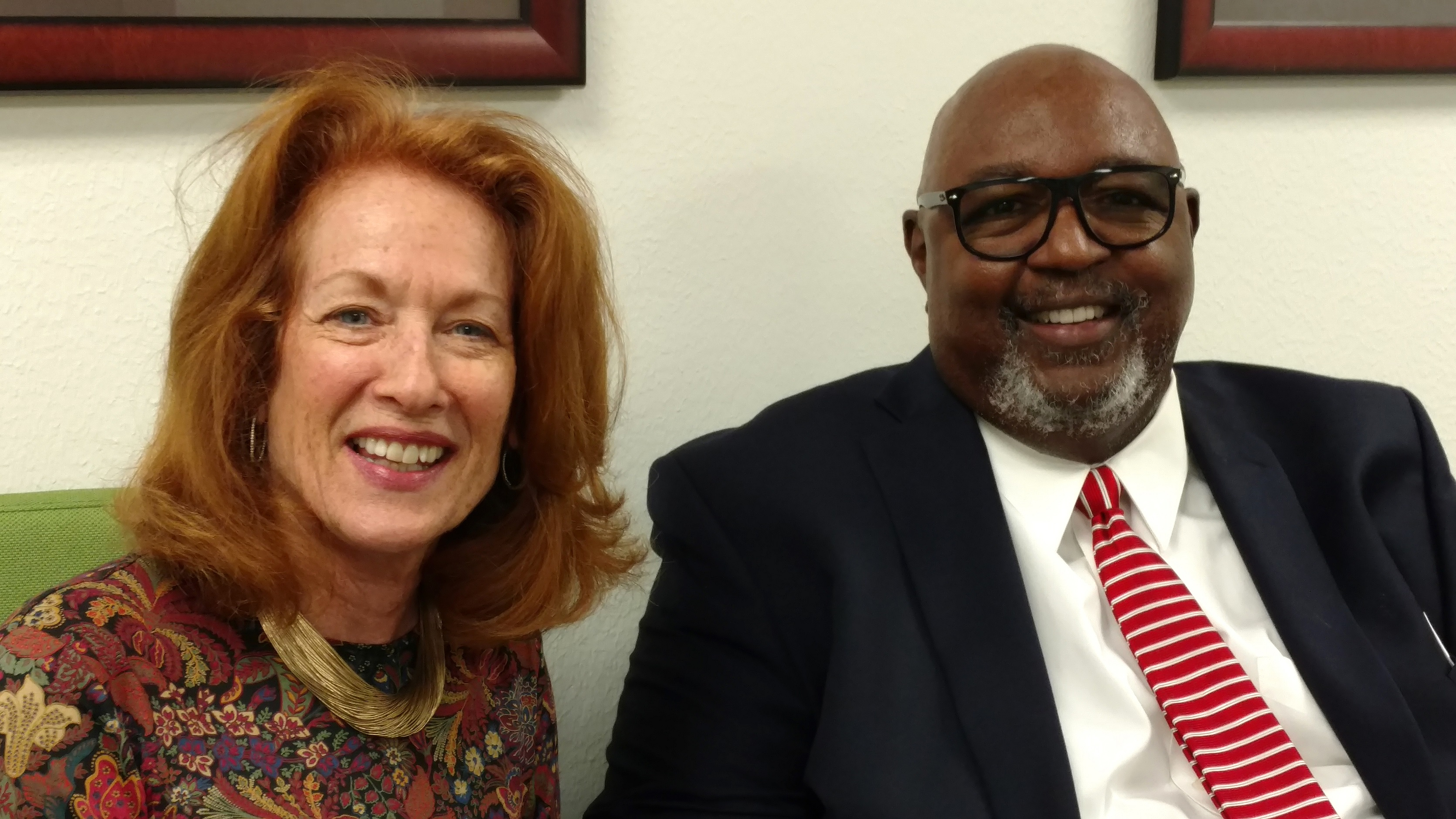 New HCPS board members: Sheila Aron & Darryl King